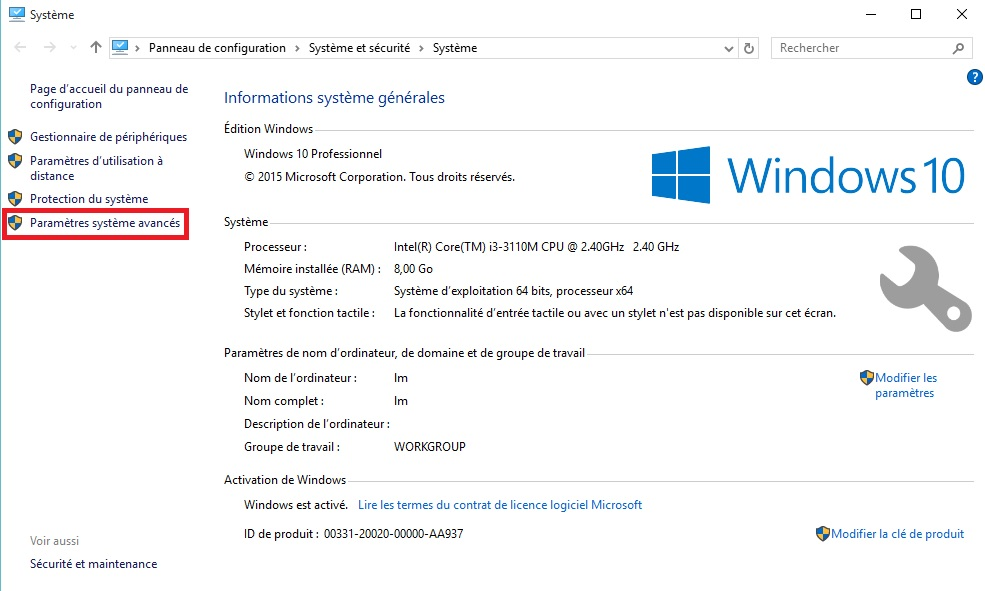 optimiser windows 10